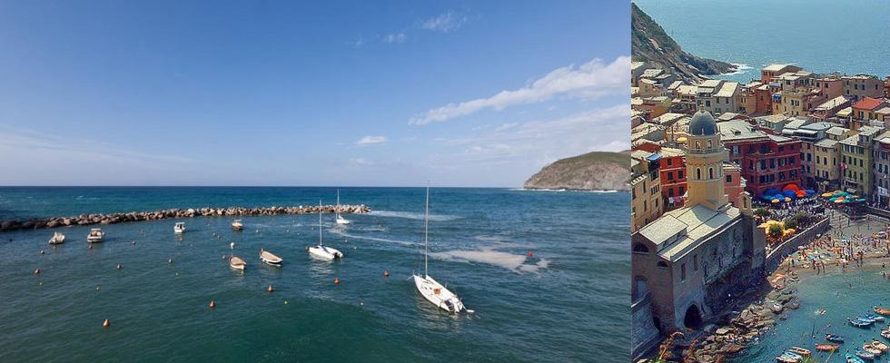 Levando and Cinque Terre